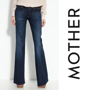 MOTHER Jeans The Wilder Flare Dark Love Potion No9